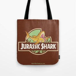 Jurassic Shark - Helicorprion shark Tote Bag