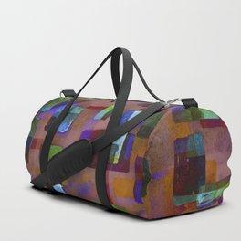 Building Blocks in Autumn Duffle Bag