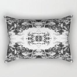 Black n White Boho Pattern Rectangular Pillow