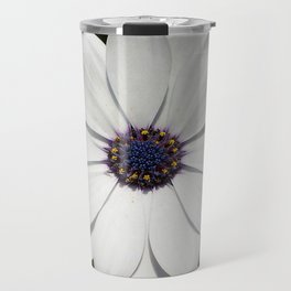 Beautiful Blossoming White Osteospermum  Travel Mug