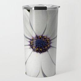 Beautiful Blossoming White Osteospermum  Travel Mug