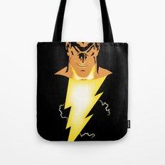 Black Adam Tote Bag