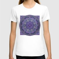 batik T-shirts featuring Batik Meditation  by DebS Digs Photo Art