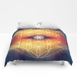 Flower of Life Comforters