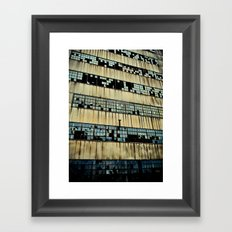 Abandoned Factory Framed Art Print