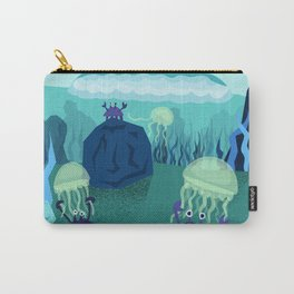 Ocean Crabs and their Friends Carry-All Pouch