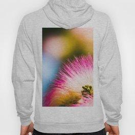 Exotic summer pink silk tree mimosa flower Hoody