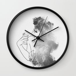 War of thoughts. Wall Clock