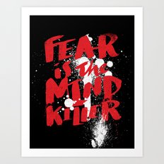 mind killer Art Print