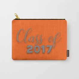 Class of 2017 - Orange and Grey Carry-All Pouch