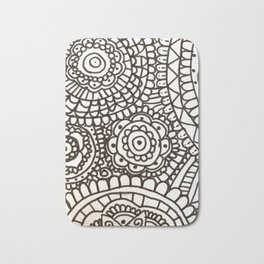 Mixed Patterns Mandala Bath Mat
