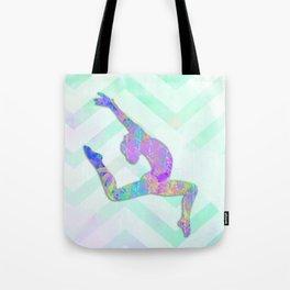Gymnast Jump Tote Bag
