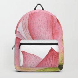 Pink lotus #2 Backpack