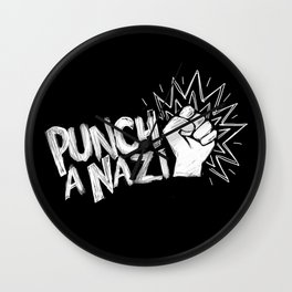 Punch a... Wall Clock