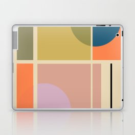 Modern geometric shapes Laptop & iPad Skin