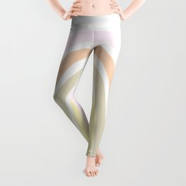 my own pastel rainbow Leggings