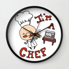I'm a Chef! Wall Clock