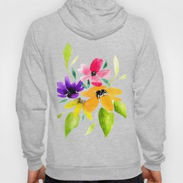 Watercolor bouquet Hoody