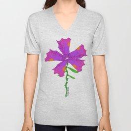 Strange Flora #001 Unisex V-Neck