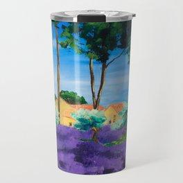 Among the Lavender Travel Mug