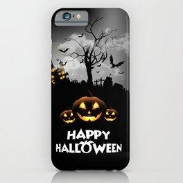 Thriller night iPhone Case