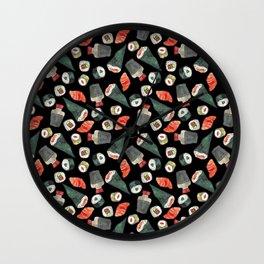 sushi <3 Wall Clock