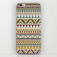aztec iPhone & iPod Skins featuring Aztec by Dianne Delahunty