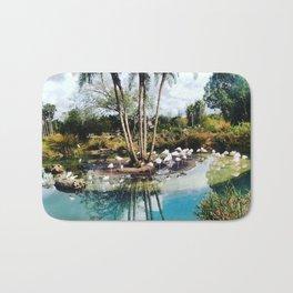 Flamingo Lagoon Bath Mat