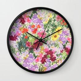Grand Flora Wall Clock