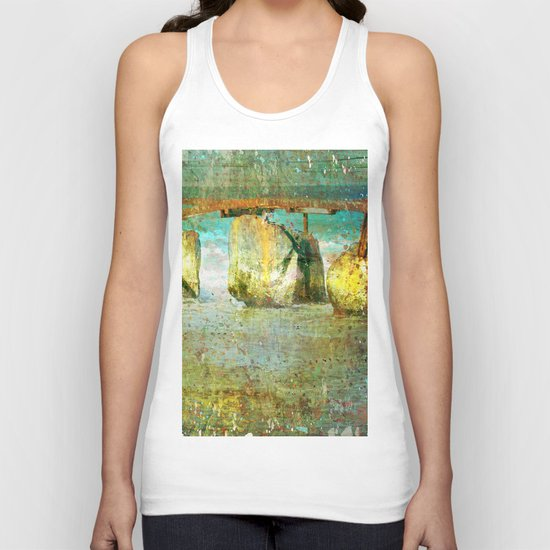 Bridge Unisex Tank Top