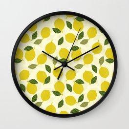 Limone Impression Wall Clock