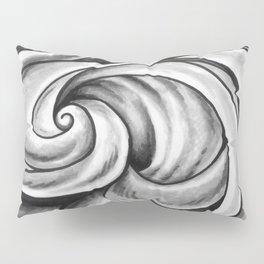 Swirl (Gray) Pillow Sham