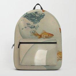Hour Glass Goldfish Backpack
