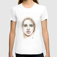 lana T-shirts featuring Lana  by Ami Leigh Barrett