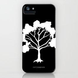 Three Trees - Cedar, Cottonwood and Larch iPhone Case