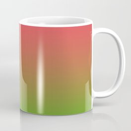 Fuchsia and Lime Gradient Coffee Mug