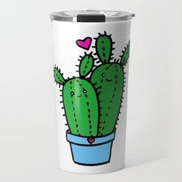 Kawaii Cacti Travel Mug