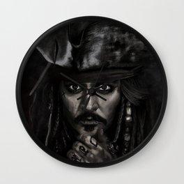 He's a Pirate Wall Clock