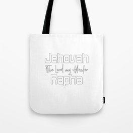 Christian Design - Jehovah Rapha Tote Bag