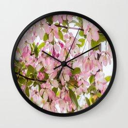 Springtime Blossoms Wall Clock