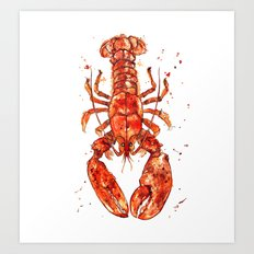 Red Lobster 2014  Art Print