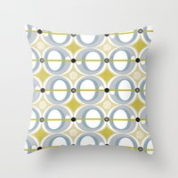 airplane Throw Pillows featuring airplane by ottomanbrim