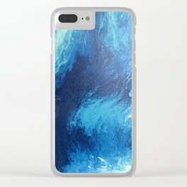 In Motion Clear iPhone Case