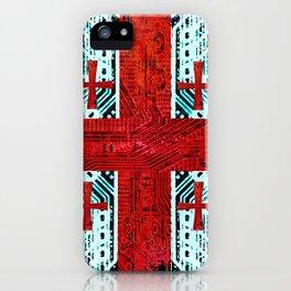 circuit board georgia (flag) iPhone Case