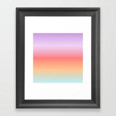 Tropical Haze Framed Art Print