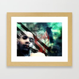 Abstraction, Distraction Framed Art Print