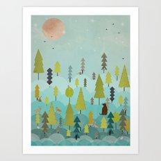 goodnight little sunshine Art Print