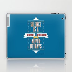 Silence Is Laptop & iPad Skin