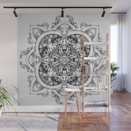 Doctor Who Clockwork Droid Mandala Wall Mural