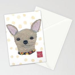 Chihuahua, Dog, Tan Chihuahua Stationery Cards